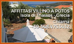 Affittasi villino Grecia