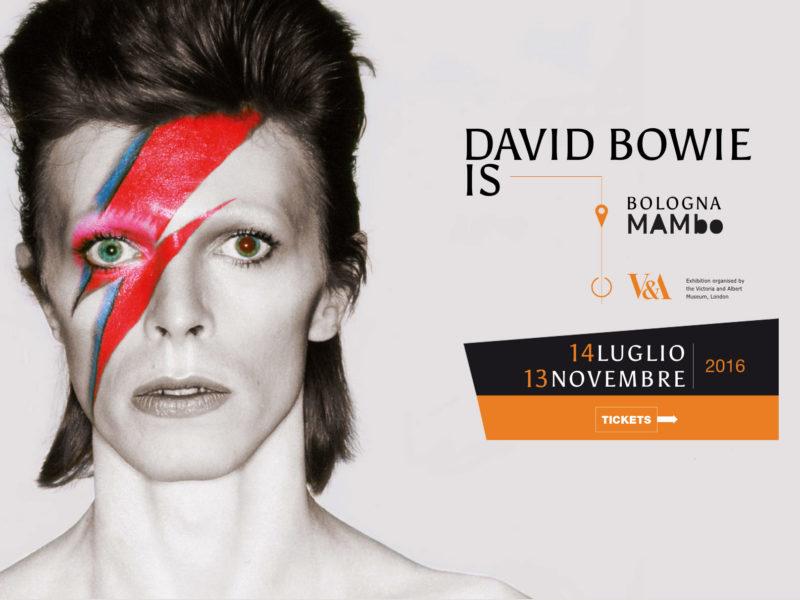 Visita la mostra David Bowie IS in esclusiva in Italia, ultima tappa europea, a Bologna dal 14 Luglio al 13 Novembre 2016