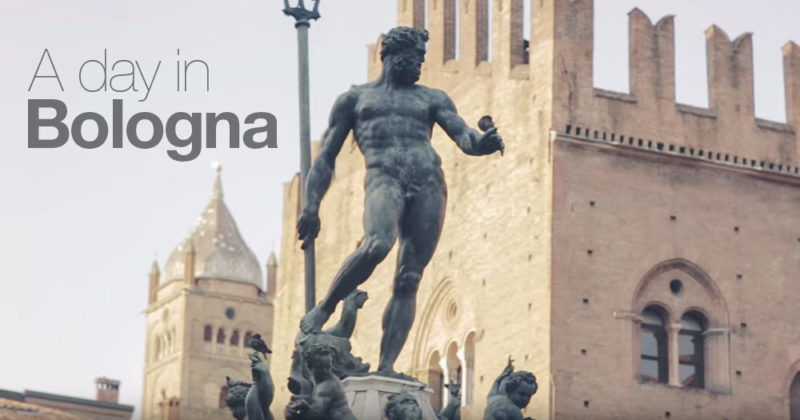 A Day in Bologna - Video